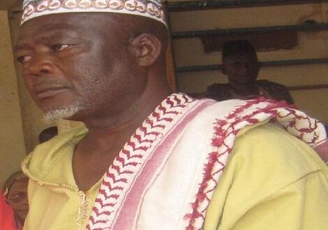 Elhadj Mamoudou Camara, imam de la grande mosquée de Kindia