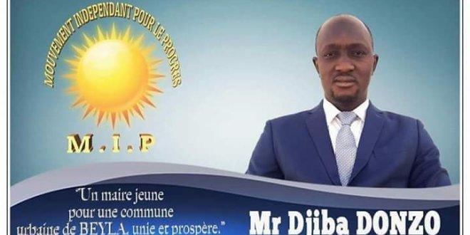 Le candidat indépendant Djiba Donzo