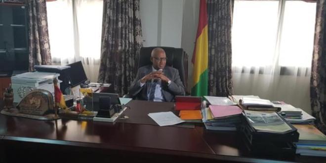 Ministre de la justice Cheick Sako