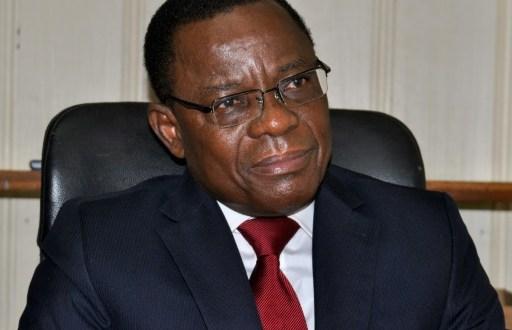 L'opposant camerounais Maurice Kamto photographié le 14 août 2018 à Yaoundé. | AFP/Archives | Reinnier KAZE