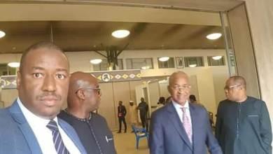 Cellou Dalein à l'Aéroport de Conakry Gbessia