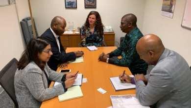 Volet minier de la visite présidentielle : Abdoulaye Magassouba a rencontré des responsables de la SFI à Washington