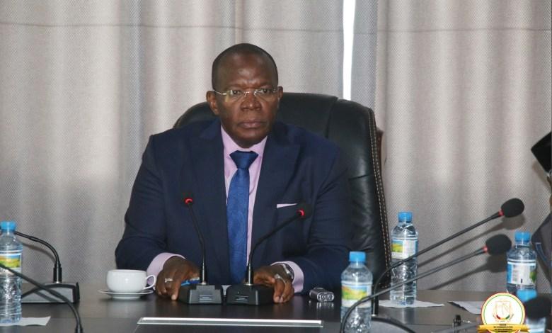 le Premier ministre Dr Ibrahima Kassory Fofana