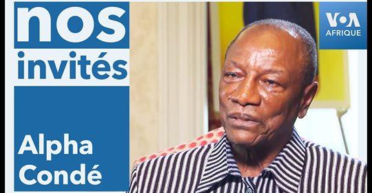 Président guinéen ALPHA CONDÉ