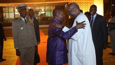 Le président Kaboré échange avec son homologue Pr Alpha Condé