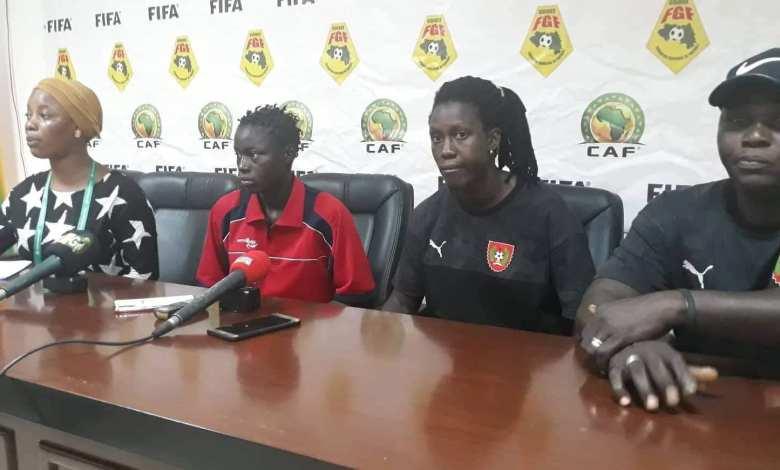Elim mondial U17 féminine / Guinée Vs Guinée Bissau Conférence d'avant match