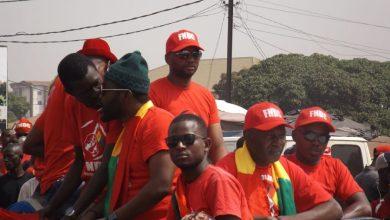 FNDC Conakry manifestation