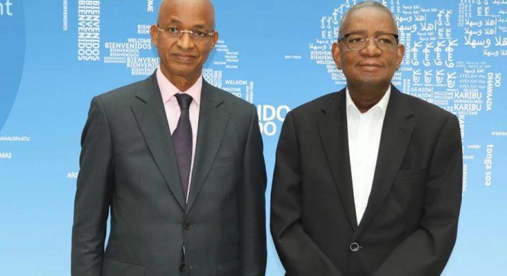 Lamine Camara et Cellou Dalein Diallo