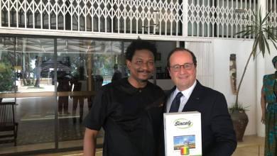 Alpha Bacar Barry et François Hollande