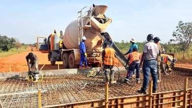 Construction Kankan-Mandiana (83 km). Les travaux de dégagement sont terminés.