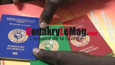 Passeport guinéen