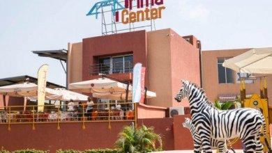 L'entrée du complexe Prima center credit photo sylvain Chekraoui pour J.A.