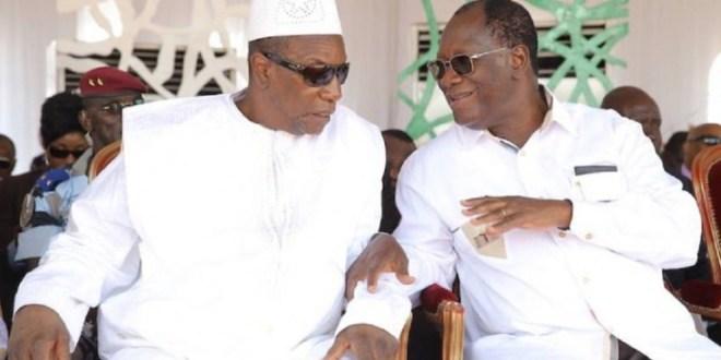 Ouattara et Alpha Condé