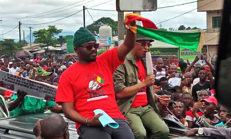 Foninké Mangué FNDC et Cellou Dalein Diallo
