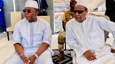 Pr Alpha Condé et Kassory Fofana PM Guinée