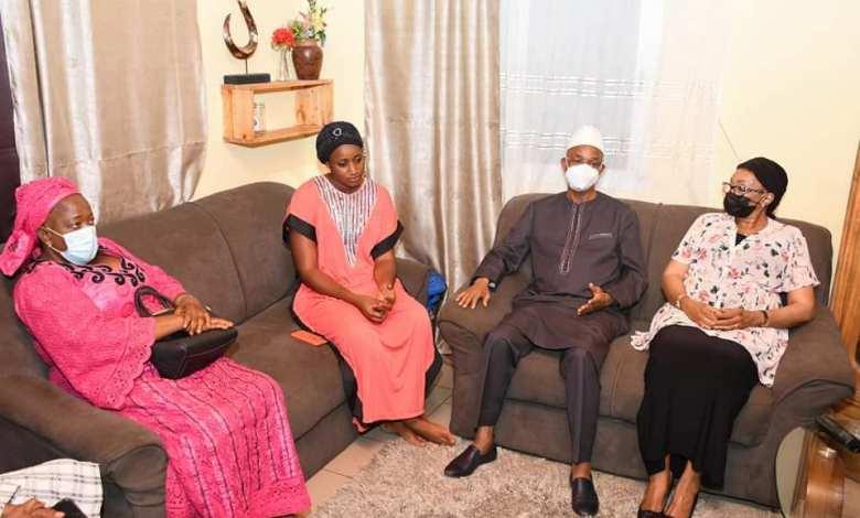 Cellou Dalein Diallo dans la famille de Foniké Menguè