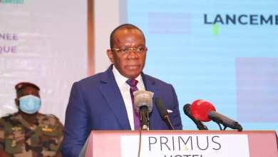 Le Premier Ministre, Dr Ibrahima Kassory Fofana