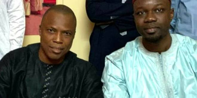 Siaka Barry et Ousmane Sonko
