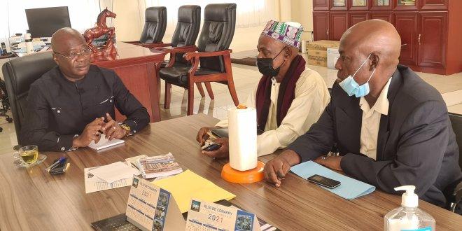 le Maire de commune de Matoto, M. Mamadouba Tos CAMARA