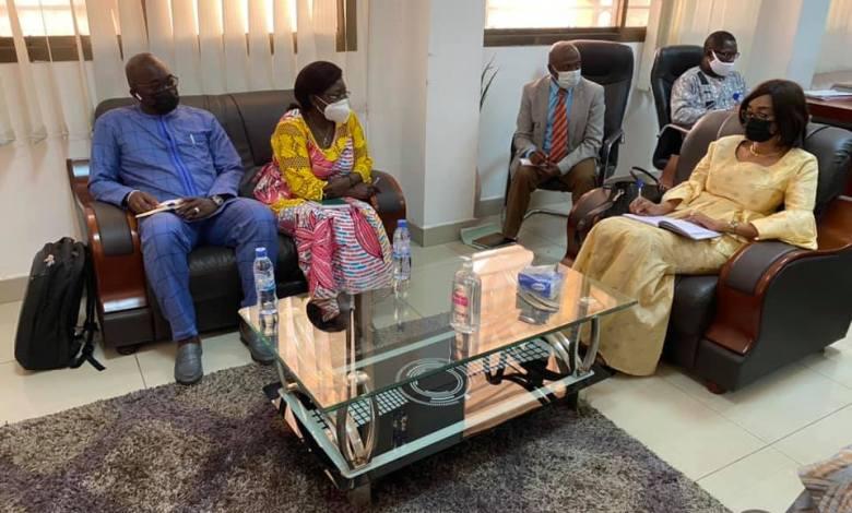 Assiatou Baldé a reçu Olga Sankara