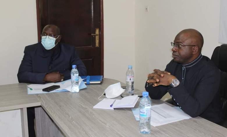 Ministère du Budget Ismaël Dioubaté