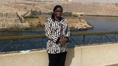 La Ministre Bountouraby Yattara sur le site du Barrage d'ASSOUAN