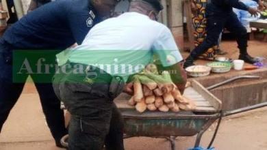 Les services de police ont arrêté ce mercredi 31 mars 2021, plusieurs vendeurs de pain dans la ville de Nzérékoré.