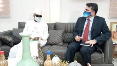 l'ambassadeur du Royaume d'Espagne reçu par le ministre Bouréma Condé
