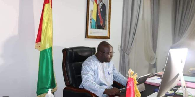 Dr. Ibrahima Khalil KABA.