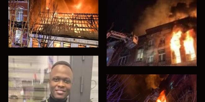 Bruxelles : Mamadou Diallo, 25 ans, perd la vie dans un violent incendie à Anderlecht .