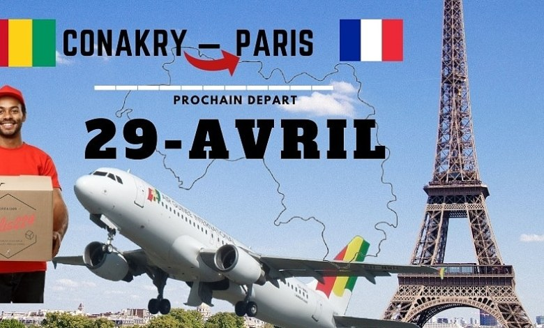 Envoyez un colis en France depuis la Guinée