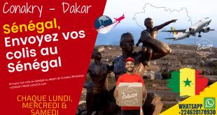 Envoyez vos colis au Sénégal depuis Conakry