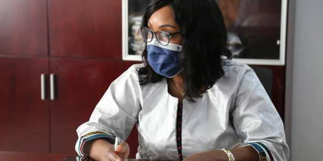 La Secrétaire Générale a reçu en audience une délégation du Centre Africain d'Études Supérieures en Gestion CESAG
