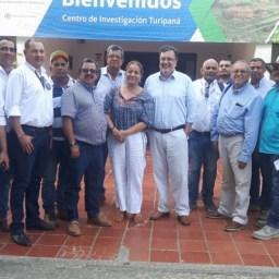 Reunión con la Dra. Deyanira Barrero, Gerente General del ICA, en Cerete Cordoba