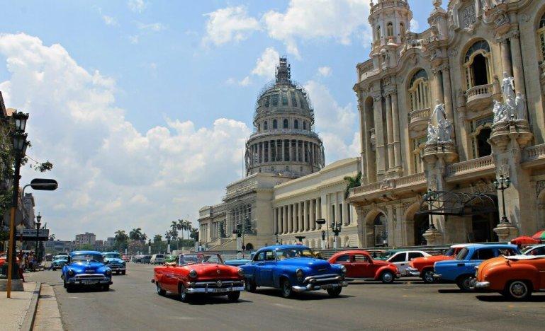 Alquiler de coches en cuba