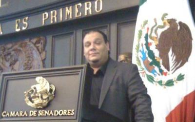 Dr. Armando Barrera at the Senate