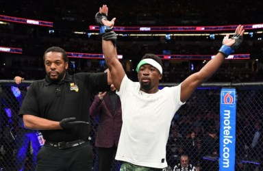 Nigeria's Sodiq Yusuff earns 3rd UFC win, knocks out Gabriel Benitez at 'UFC 241' in Anaheim, California