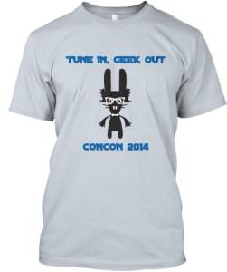 Con-Con GeekBunny T