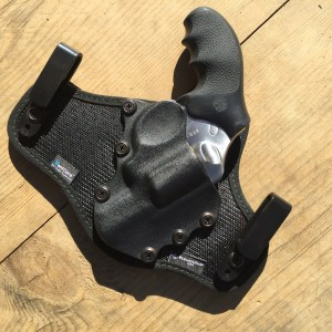 Ruger SP101 DAO Riding in StealthGear Holster