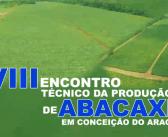 A PREFEITURA REALIZOU COM VÁRIAS PARCERIAS O VIII ENCONTRO TÉCNICO DA PRODUÇÃO DE ABACAXI.