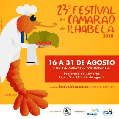 FESTIVAL DO CAMARÃO * LITORAL NORTE * ILHA BELA/SP