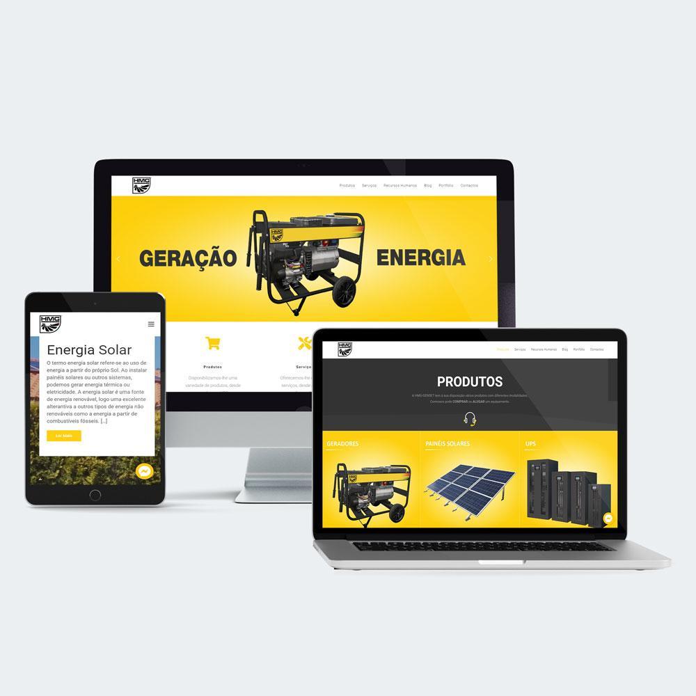 Website HMG-GENSET