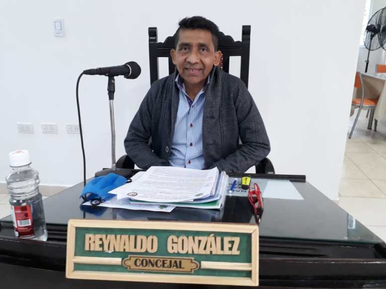 Concejal Gonzalez