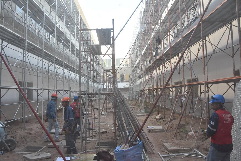 Encabezado por el Ministerio de Salud junto a las autoridades de nuestro municipio se llevo a cabo la Inspección del Hospital de tercer nivel