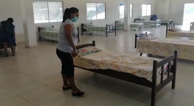 Inspeccionan ambientes de aislamiento para personas con covid – 19 (Terrapuerto Montero)