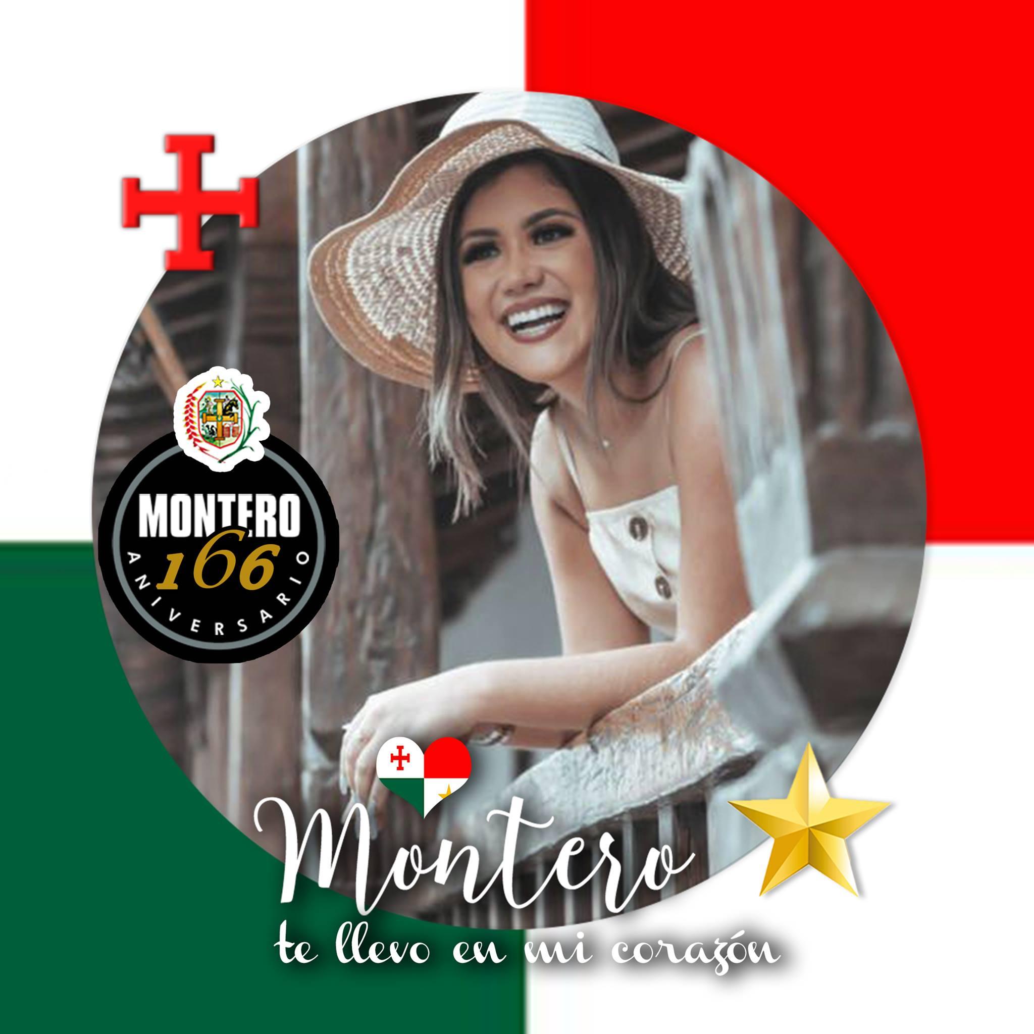 Embanderamiento virtual en su mes aniversario de Montero.