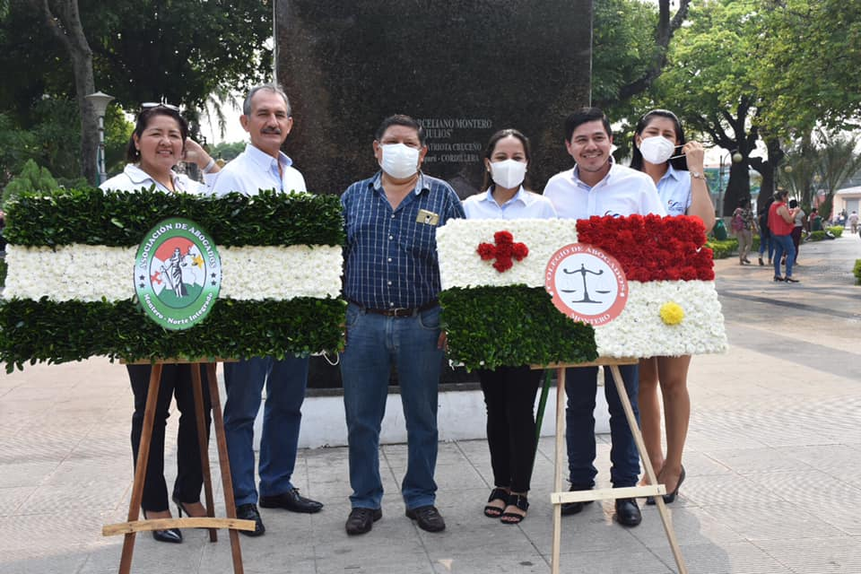 En Montero celebran el día del abogado boliviano.