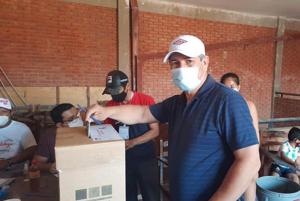Concejales acuden a las urnas en jornada de elecciones generales 2020.