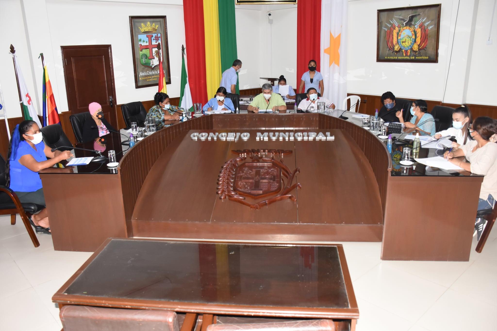 Concejo Municipal aprueba 2do. reformulado del POA 2020 incrementando más de 10 millones de bolivianos.