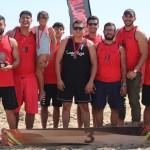 Handball de playa - Premia Gobierno Estatal a campeones de la Copa de Balonmano de Playa, Volcán 2020 - #Noticias